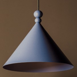 Pink pendant lamp KONKO MONO Dirty Pink 45cm LOFTLIGHT