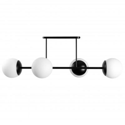 KOP D czarny plafon / lampa przysufitowa