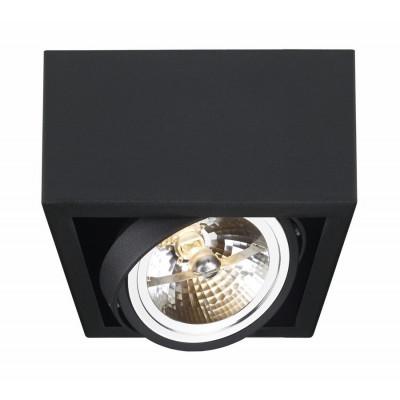Cube 1 oprawa stropowa natynkowa biała | czarna | szara
