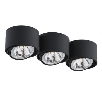 Lumos 3 oprawa stropowa natynkowa biały | czarny