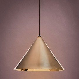 KONKO Brass Light, pendant lamp, shade diameter 30cm LOFTLIGHT