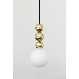Hanging lamp Bola Bola Gloss, made of stainless steel and brass LOFTLIGHT