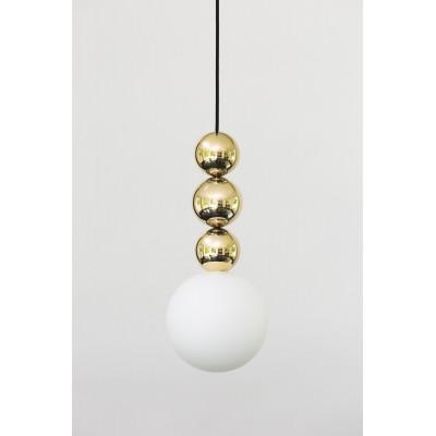 Lampa wisząca Bola Bola Gloss, ze stali nierdzewnej i mosiądzu LOFTLIGHT