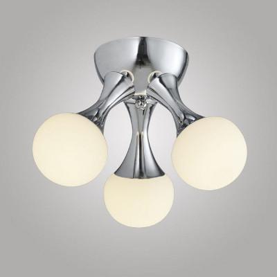 Lampa wiszaca SATURN-46W P8356A-46W Led, białe pierścienie, metalowa oprawa Auhilon