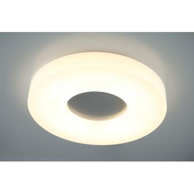 LAMPA sufitowa , Plafon Chicago LED 28W HY2634-828, natynkowa OPRAWA okrągła LED 28W 3000K plafon biały, Auhilon