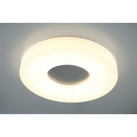Ceiling LAMP, Plafond Chicago LED 28W HY2634-828, surface-mounted LUMINAIRES round LED 28W 3000K ceiling lamp white, Auhilon