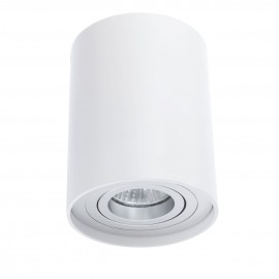 Plafon TUBA NERO 1L WH kinkiet Led, C1234-1L WH metalowy Auhilon Deco Lighting