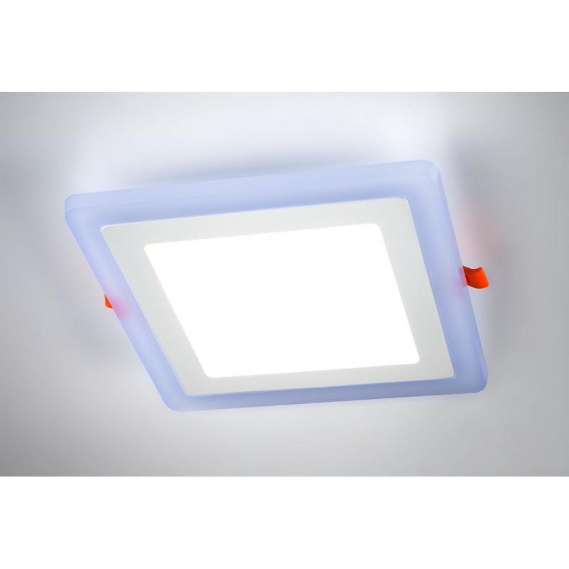 Recessed ceiling luminaire. QUATRO 6W WH, Ceiling YP005SB-6W Auhilon
