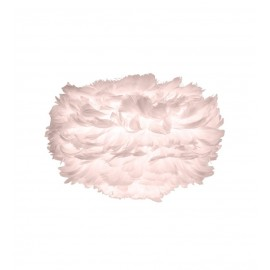 EOS MINI LIGHT ROSE UMAGE LAMP WITH FEATHERS - 02298