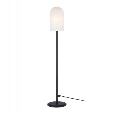 Floor large standing lamp AFTERNOON 1L Black / White IP44 107998 Markslojd