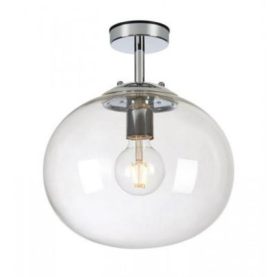 Lampa wisząca AMY Sufitowa 1L Chrom/ przeźroczysta IP44 MARKSLOJD
