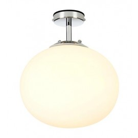 Hanging lamp AMY Ceiling 1L Chrome / transparent IP44 MARKSLOJD