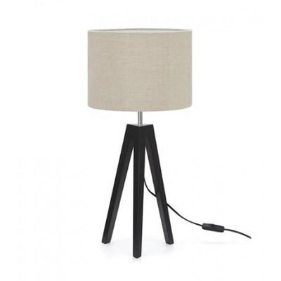 Table lamp LUNDEN 1L Black / Gray 107943 MARKSLOJD