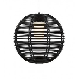 Hanging lamp RUBEN Hanging 1L black