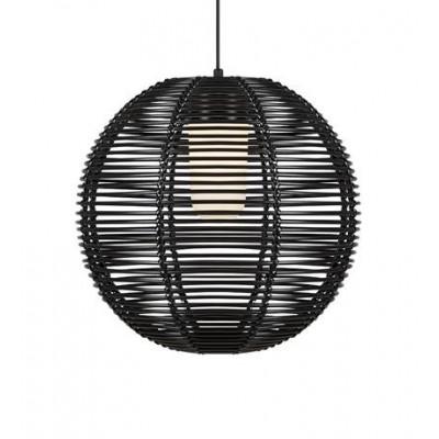 Lampa wisząca SAGE 1L Czarny IP44 107979 MARKSLOJD