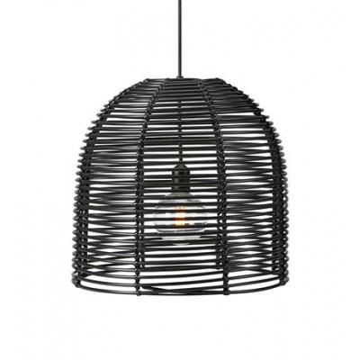 Lampa wisząca GARDEN 24 Czarna IP44 40cm 107990 MARKSLOJD
