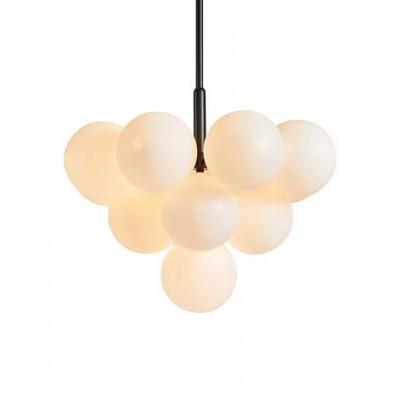Lampa wisząca MERLOT 13L Czarny/Biały 107903 MARKSLOJD