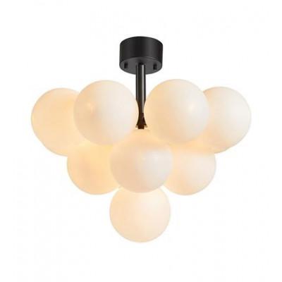 Lampa wisząca MERLOT 13L czarny / biały 107913 MARKSLOJD