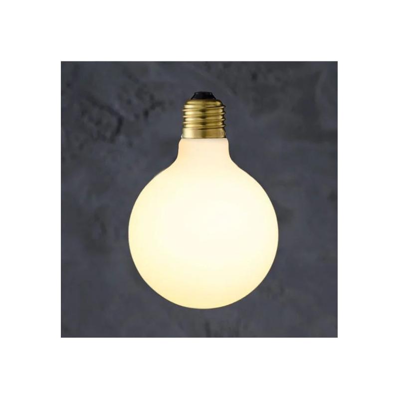 Decorative bulb Globe 95 Porcelain LED 6W Loftlight