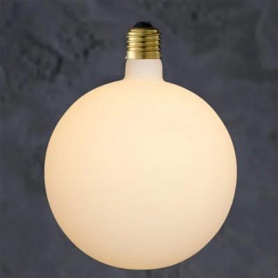 Duża, porcelanowa żarówka dekoracyjna – Globe 200 Porcelain LED 6W Loftlight