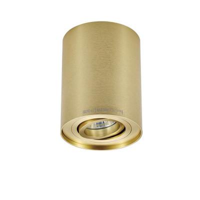 Gold ceiling lamp surface spot RONDOO SL 1 UP SPOT 94354 GOLD ZUMA LINE