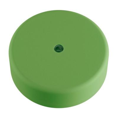 EIVA zielona zewnętrzna maskownica sufitowa IP65 rozeta z miękkiego silikonu Creative-Cables
