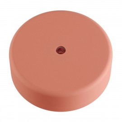 EIVA różowa zewnętrzna maskownica sufitowa IP65 rozeta z miękkiego silikonu Creative-Cables
