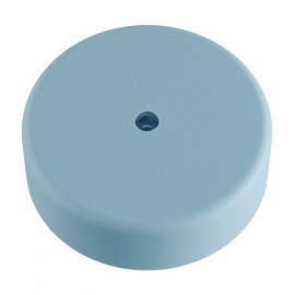 EIVA light blue external ceiling cup IP65 soft silicone rosette Creative-Cables
