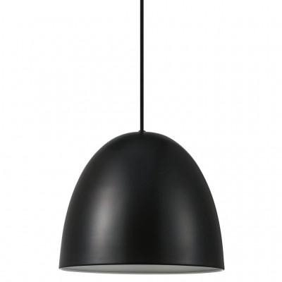 Lampa wisząca / sufitowa Alexander E27 40W czarna 30cm 48673003 Nordlux