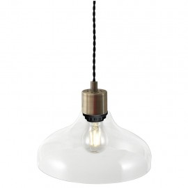 Hanging / ceiling lamp Alrun E27 60W Clear 20cm 45263000 Nordlux