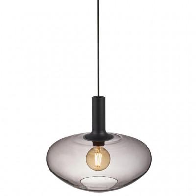 Hanging / ceiling lamp Alton 35, E27 60W black 35cm 48973001 Nordlux