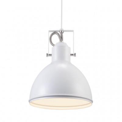 Lampa wisząca / sufitowa Aslak E27 40W biała 20cm 46553001 Nordlux