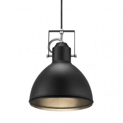 Lampa wisząca / sufitowa Aslak E27 40W czarna 20cm 46553003 Nordlux