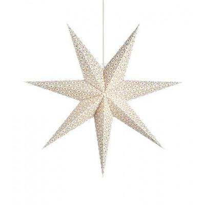 Hanging star BAROQUE 75cm white E14 6W 705320 MARKSLOJD