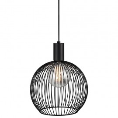Hanging / ceiling lamp Aver 30 black 30cm 60W 84243003 Nordlux