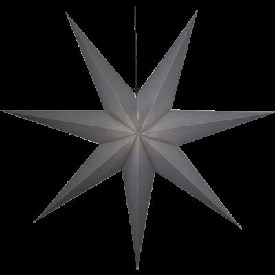 Gwiazda wisząca PAPIER OZEN 231-88 szara 140cm E27 STAR TRADING