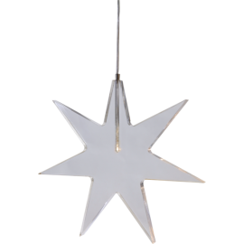 Hanging lamp Star ALICE 60cm 505-01 white STAR TRADING