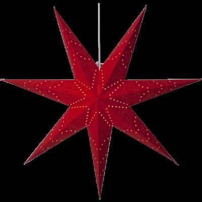 Lamp STAR HANGING PAPER SENSY 231-49 100cm, red STAR HANGING PAPER SENSY 231-49 STAR TRADING