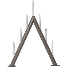 Lamp CIRCUM CANDLE 219-47 E10 gray STAR TRADING