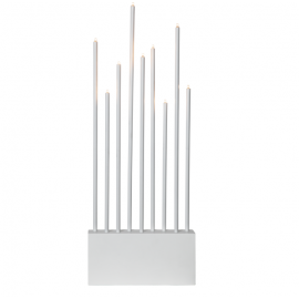 Lamp Candlestick BUZZ 644-07 E5 white STAR TRADING
