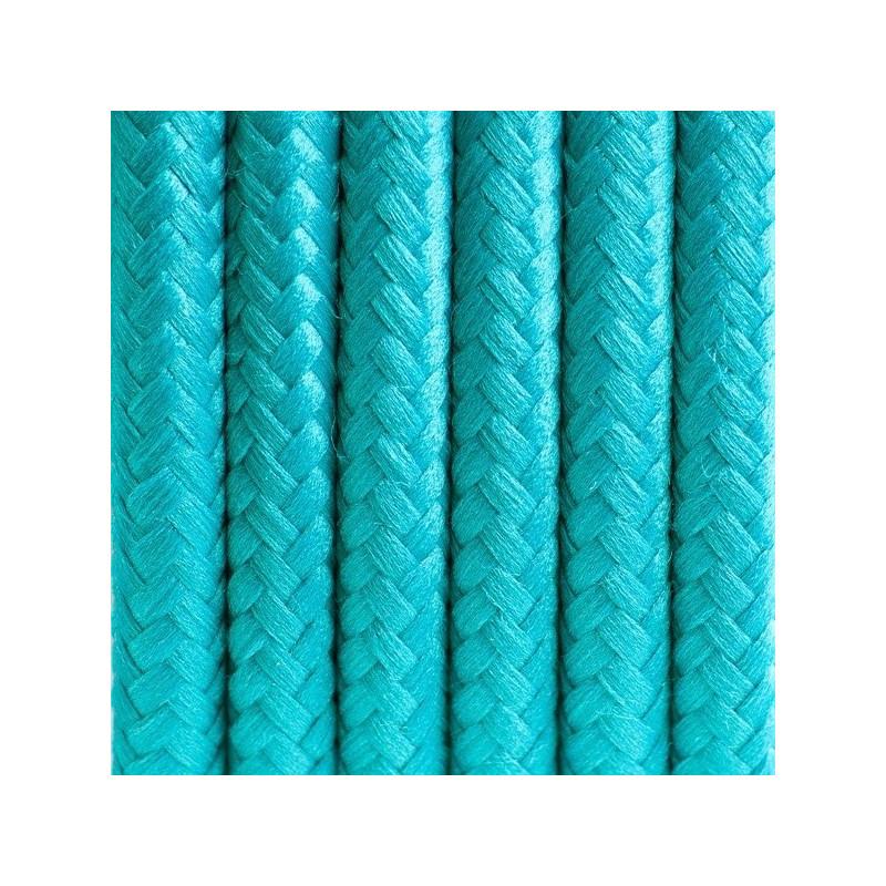 Kabel w oplocie poliestrowym 11 morski raj dwużyłowy 2x0.75
