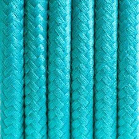 Morski kabel w oplocie poliestrowym 11 morski raj dwużyłowy 2x0.75 Kolorowe Kable