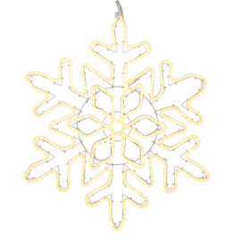 Lamp SNOWFLAKE NEO LED WARM WHITE 70 CM IP44 807-24 68cm, LED, STAR TRADING