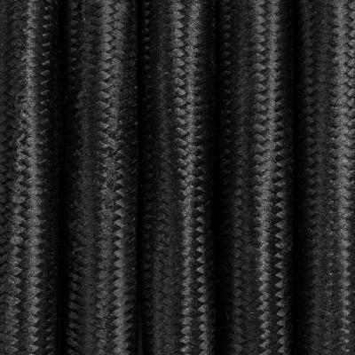 Kabel w oplocie czarnym poliestrowym trzyżyłowy 3x1,5mm2 Kolorowe Kable