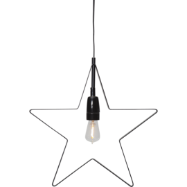 HANGING STAR lamp ORBIT 257-50 33cm black Star Trading