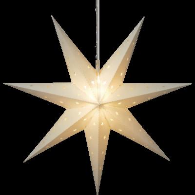 Lampa GWIAZDA WISZĄCA ALICE 505-01 60cm biała IP44 STAR TRADING