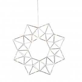 Lamp STAR HANGING EDGE 690-52 40cm chrome Star Trading