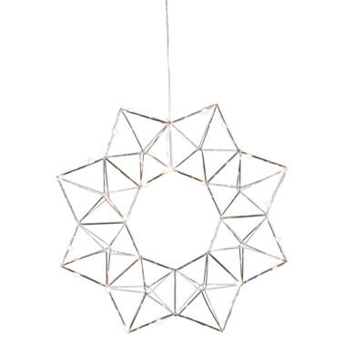 Lampa GWIAZDA WISZĄCA EDGE 690-52 40cm chrom Star Trading