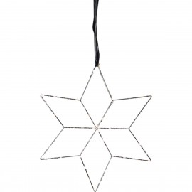 HANGING STAR lamp LOLLY 691-11 silver Star Trading