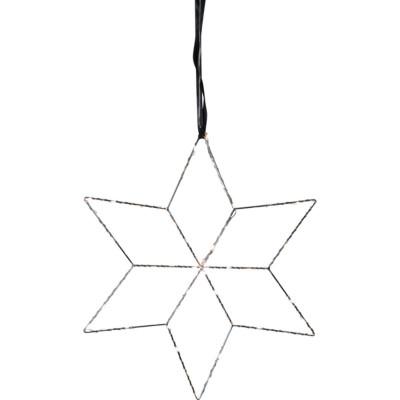 Lampa GWIAZDA WISZĄCA LOLLY 691-11 srebrna Star Trading